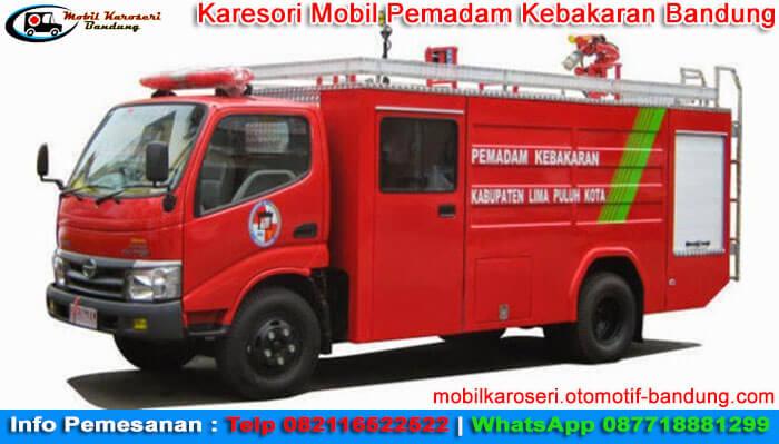 Karesori Mobil Pemadam Kebakaran Bandung