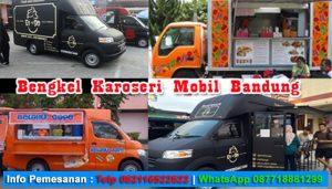 Karoseri Food Truck Bandung Murah